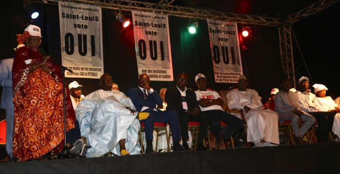 Les images du meeting de Macky Sall à Saint-Louis