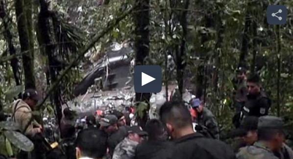 EQUATEUR : 22 morts dans le crash d'un avion militaire