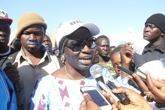 """Aminata Touré aux taximen : """" Votre mobilisation exceptionnelle témoigne de votre engagement aux côtés du président Macky Sall! """""""