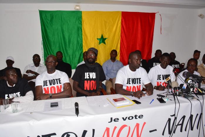SABOTAGE : Le Front du NON soupçonne Diop Sy de vouloir saboter la tournée du Maire de Dakar dans le Plateau