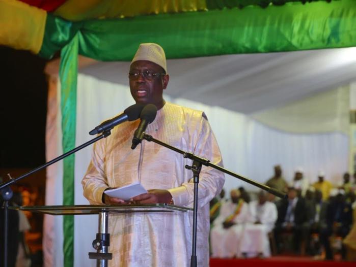 Macky Sall à l'endroit de l'opposition : « Ils n'osent pas parler de mon bilan, je ne dirige pas le même Sénégal qu'eux…»