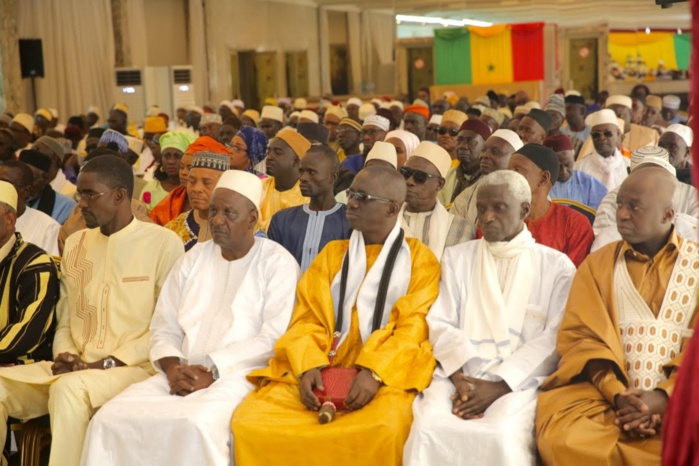 Audience des délégués de quartier de Dakar