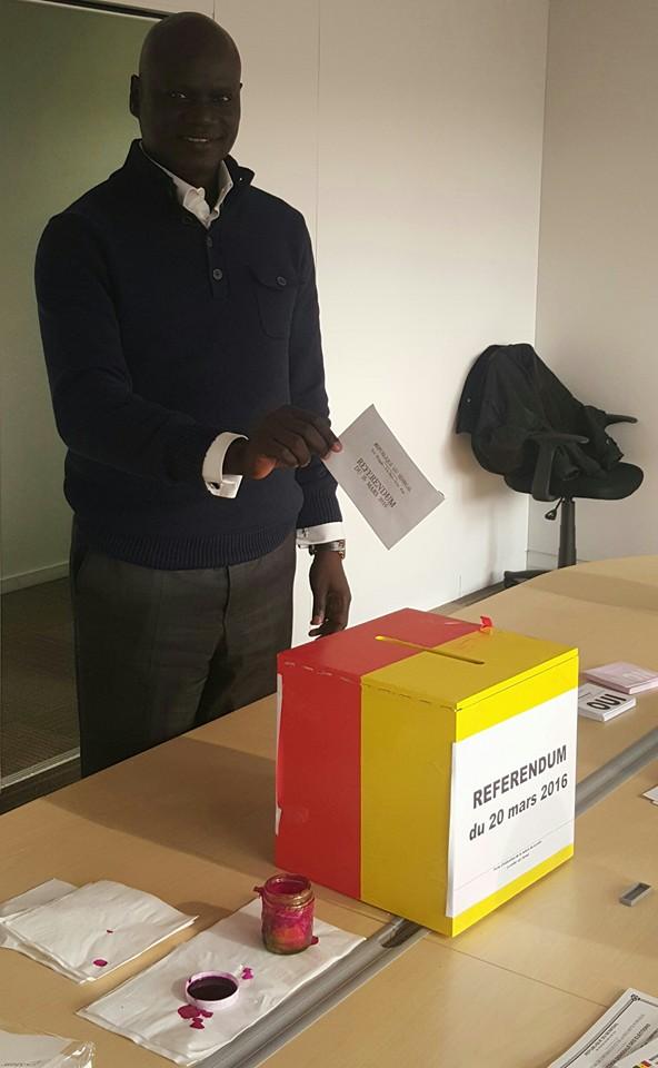 GENÈVE : Après avoir accompli son devoir de vote, le message de Dr Abdourahmane Diouf