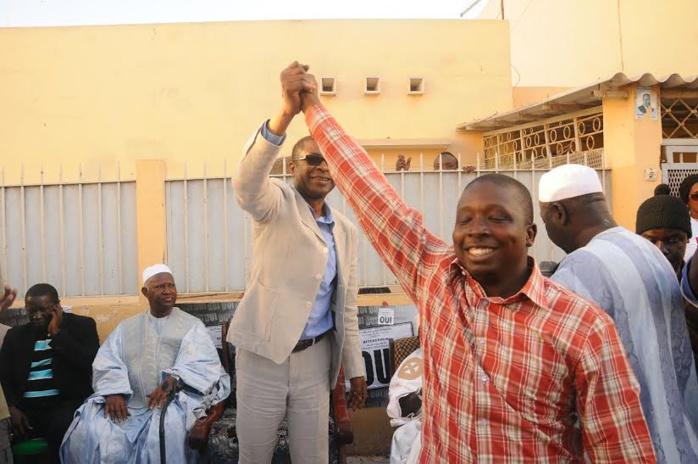 Le Responsable des Jeunes de Fekke ma ci boolé, Pèdre N'diaye, gagne son centre de vote à l'école HLM4 A