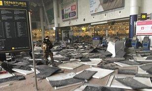 Au moins une explosion à l'aéroport de Bruxelles