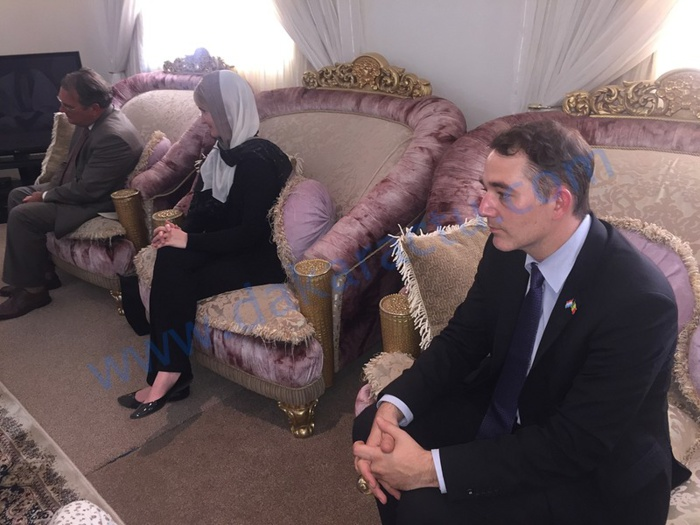 Visite des ambassadeurs des Pays Bas, de la Belgique et du Luxembourg à Touba
