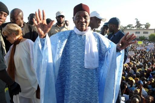 L'ancien président du Sénégal Abdoulaye Wade devenu l'un des plus farouches opposants au régime de son successeur Macky Sall. Photo AFP