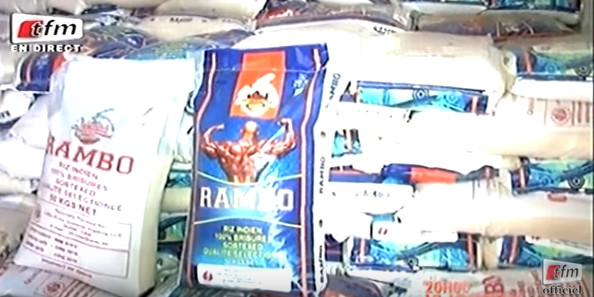 Thiaroye : La gendarmerie saisit 464 T de riz périmé d'une valeur de 1,2 milliard