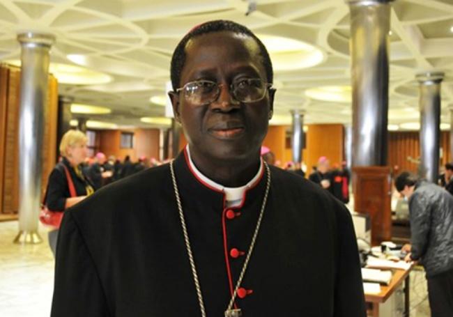 Fêtes de Pâques : Monseigneur Benjamin N'diaye à la mac de Rebeuss