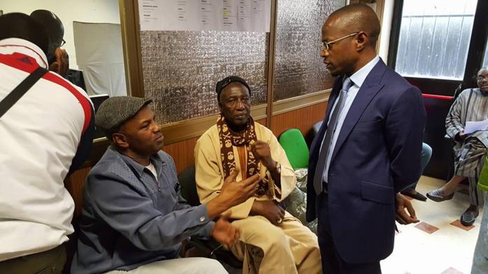 En mission en Italie, Abdou M'bow rencontre les sénégalais de Milan