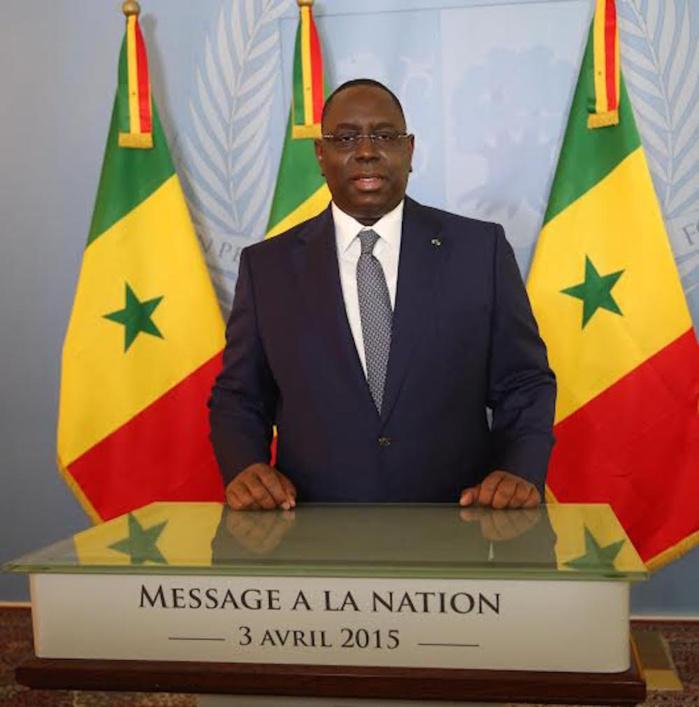 Message à la nation : Macky Sall a-t-il tenu ses promesses du 3  avril 2015 ? (Par Birame Faye)