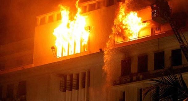 M'BOUR- INCENDIE AU VILLAGE DE SAND : Un couple et ses deux enfants périssent dans les flammes
