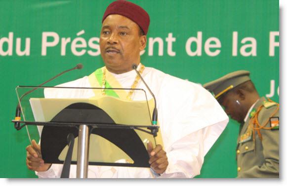 NIAMEY : Mahamadou Issoufou préconise un renforcement de l'intégration pour contrer le terrorisme