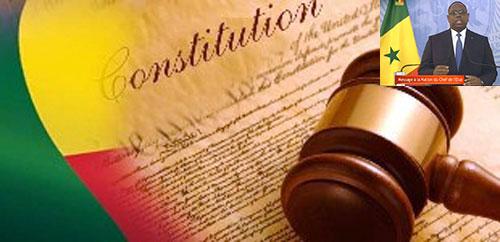 """Macky Sall promet une """"mise en oeuvre""""  diligente de la réforme constitutionnelle du 20 mars 2016"""