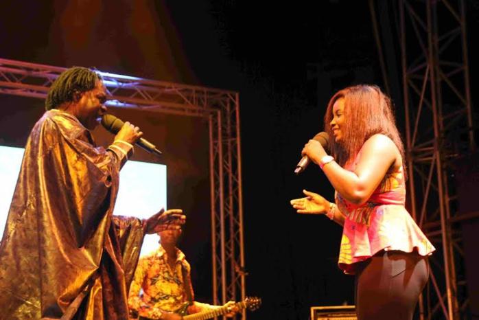 Enregistrement de l'émission PLUS D'AFRIQUE avec CANAL HORIZONS : ABIBA a fait vibrer le CCF de Dakar (images)