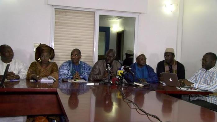 Fâchée comme jamais, la Coalition du NON/GOR CA WAX JA récuse Abdoulaye Daouda Diallo et Doudou N'dir (Cena) de l'organisation d'élection