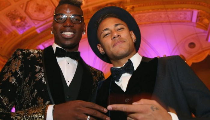 Pogba rejette Neymar