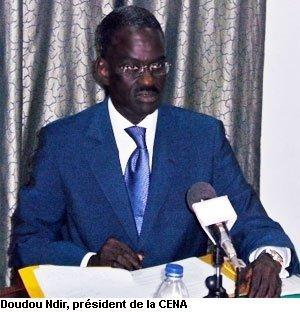 Doudou N'dir répond à la Coalition du NON/Gor Ca Wax : « La CENA n'a pas, une seule fois, failli à sa mission»