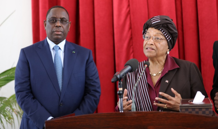 Visite de la Présidente Libérienne au Sénégal : Macky Sall et son hôte ont évoqué plusieurs aspects liés à la coopération bilatérale