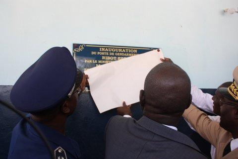 Actes délictuels dans la commune de Ribot-Escale : Augustin Tine inaugure un poste de Gendarmerie pour sécuriser la zone