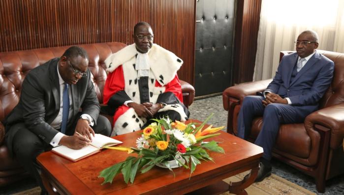 Mamadou Badio Camara, premier président de la Cour Suprême : « Les juges ne sont pas infaillibles!»