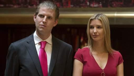 La grosse gaffe d'Eric et Ivanka Trump