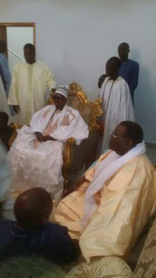 THIANT DU 17 AVRIL - Cheikh Bass Abdou Khadre rend visite à Cheikh Béthio