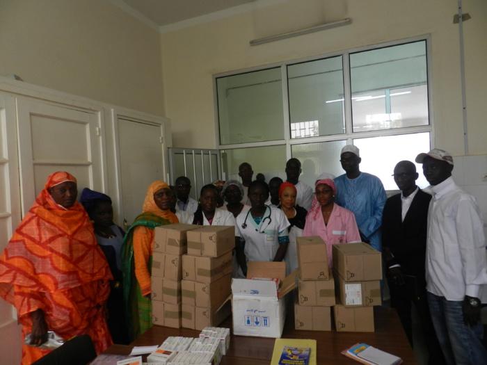 Hôpital Le Dantec : Un million en don de médicaments offert par le DG des ADS