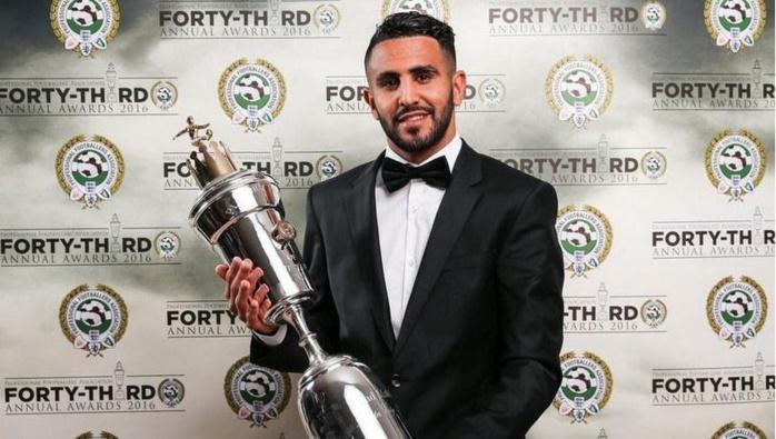 Premier League : Mahrez élu joueur de l'année !
