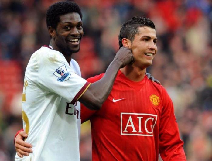Adebayor : « Personne n'est comparable à Cristiano Ronaldo! »