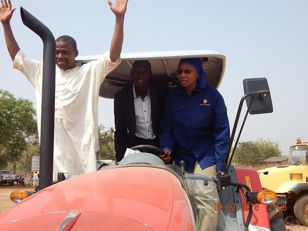KEDOUGOU : Pour relancer l'agriculture et lutter contre l'insécurité alimentaire, la SGO accompagne la SODEFITEX