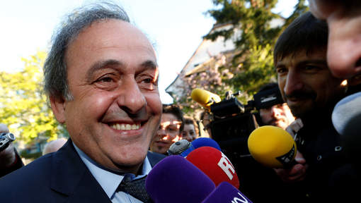 "Platini est arrivé au TAS : "" Je suis optimiste, on va gagner """