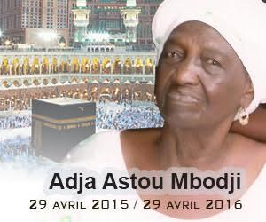 Anniversaire du décès de la Grande Royale Adja Astou M'BODJ de Fass,  priez pour Elle!