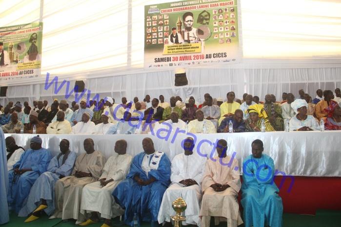 Les images de la 11ème édition de la journée culturelle Cheikh Mouhamadou Lamine Bara Mbacké au Cices