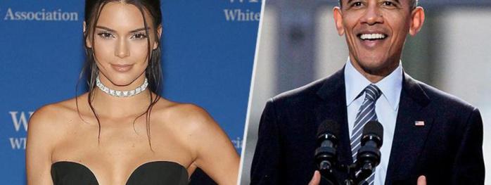 Kendall Jenner moquée par Barack Obama au dîner des correspondants de la Maison Blanche