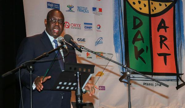 La subvention allouée à la biennale sera portée à 500 millions (MACKY SALL)