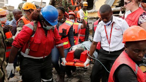 KENYA : Quatre survivants trouvés 6 jours après un effondrement