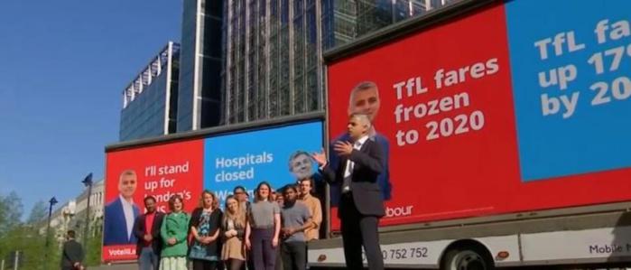LONDRES : Un musulman élu maire de cette ville