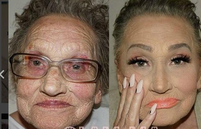 Maquillage: Elle transforme sa grand-mère de 80 ans grâce au contouring