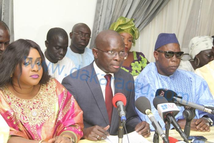 OFFICIEL : Modou Diagne Fada quitte le PDS et crée les démocrates réformateurs « Yessal » (Ldr)