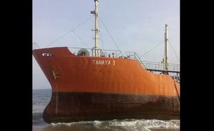 MYSTÈRE : Un pétrolier « fantôme » à destination de Dakar s'échoue sur les côtes Libériennes