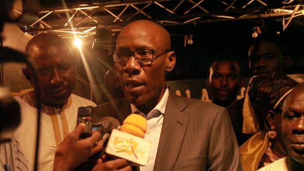 Oumar Sarr à Thiès pour demander la refondation du Rewmi ou le départ de Idrissa Seck à la tête du parti (vidéo)