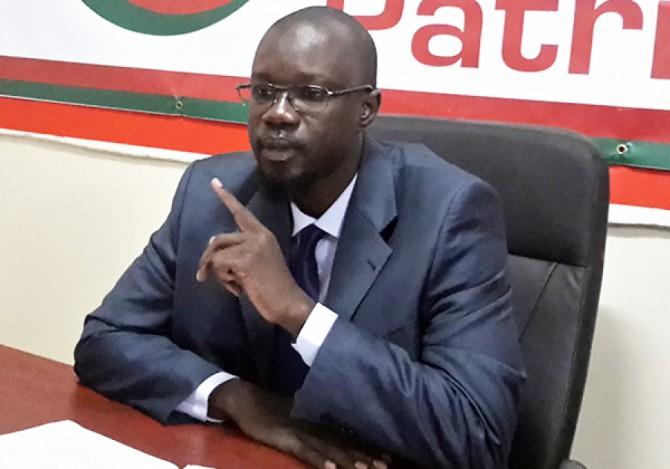 """"""" Le banditisme d'Etat """", selon Ousmane Sonko"""