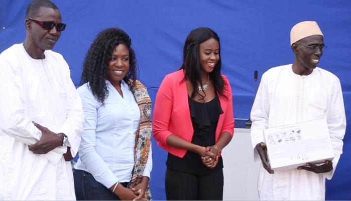 TAEKWONDO : Bineta Diédhiou offre du matériel à l'école du Camp Abdou Diassé et reçoit un million de francs du CNOSS