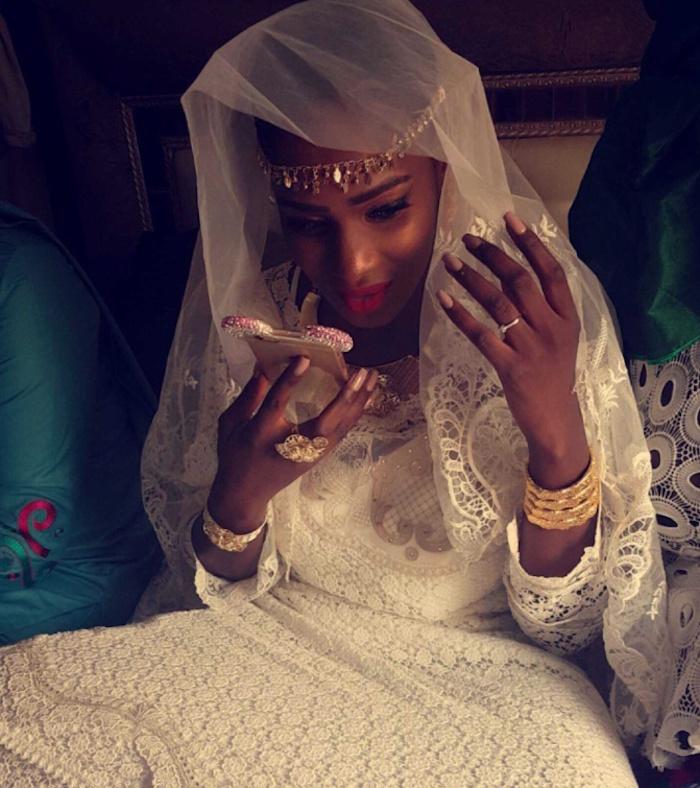"""Après son mariage, Mame Diarra Thiam alias Lissa parle à People.sn : """" Ce que je peux vous dire sur mon mari (...) Cathy Chimère et mon mari ne sont liés que par le patronyme Diaw """""""