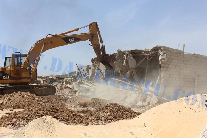 Après la destruction de leurs maisons : Les résidents de la Cité Tobago seront recasés à N'gor