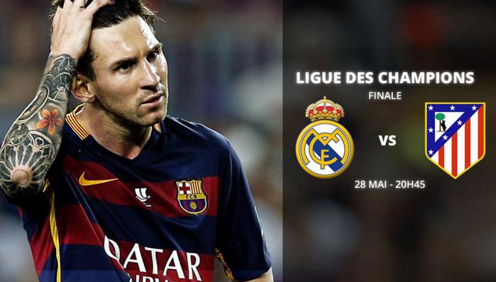 Ligue des Champions : Messi veut la défaite du Real