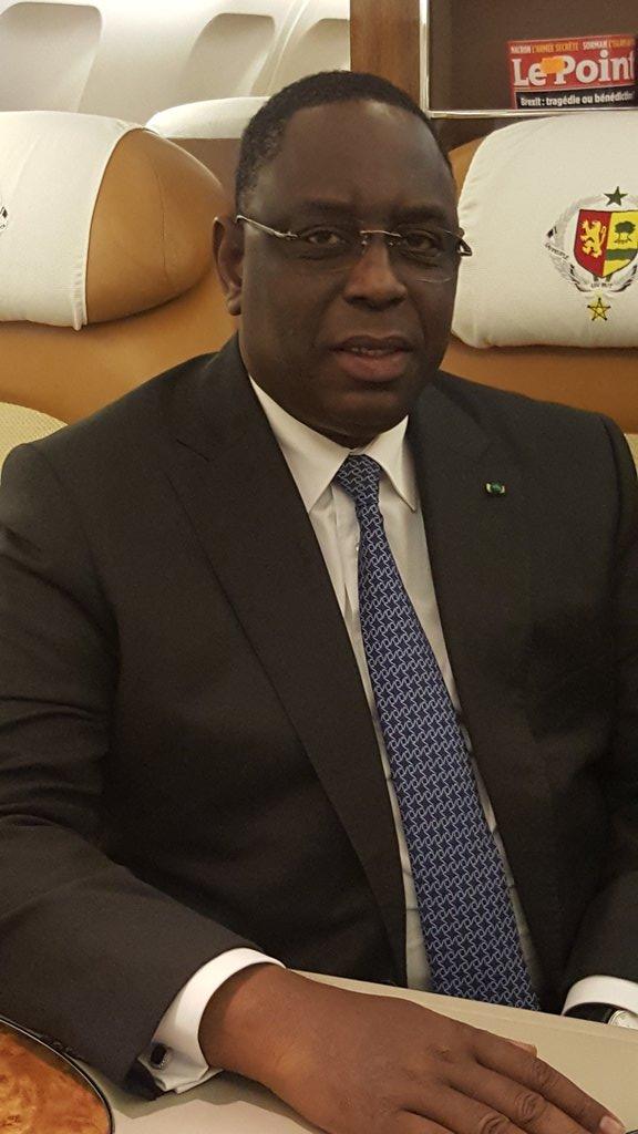 26ème édition du Forum économique mondial sur l'Afrique : Le Président de la République Macky Sall est arrivé à Kigali