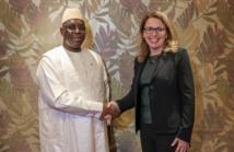 WEF : Macky Sall a rencontré la Présidente du Millenium Challenge Corporation