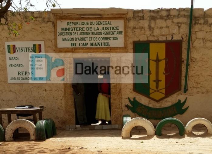 INSOLITE : Une fille fait entrer de la drogue à la prison du Cap Manuel…